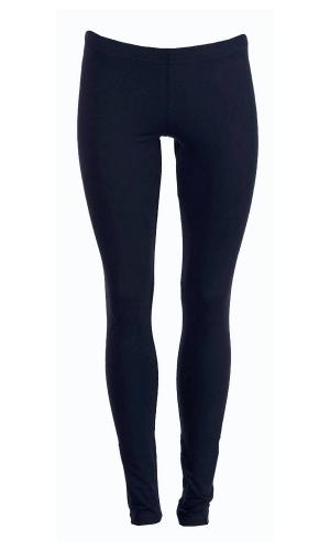 Donkerblauwe legging