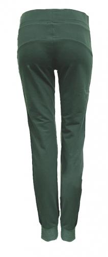 Groene joggingbroek met streep