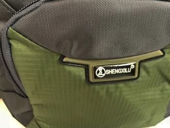 Mini schoudertasje groen