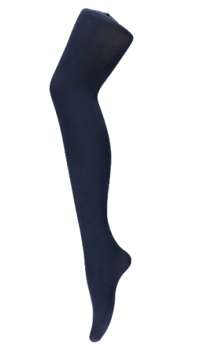 Panty marine blauw