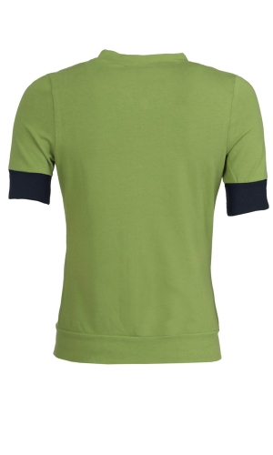 Vest Teuntje green